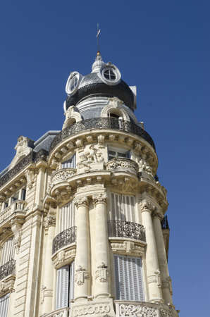 ancient french luxury building