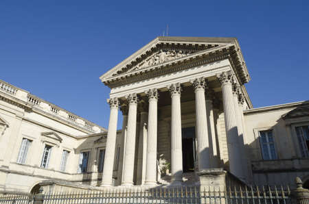 old courthouse of Montpellier, France, Europe