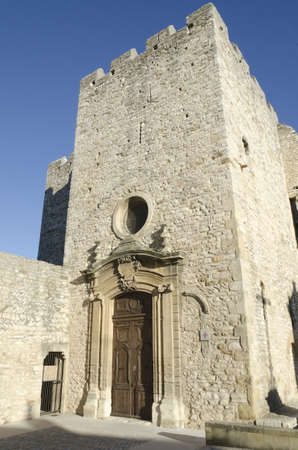 fortified: medieval fortified church