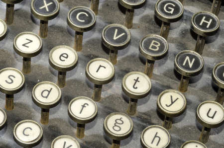 ancient typewriter Stock Photo - 12871573