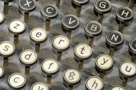 ancient typewriter Stock Photo - 12871573