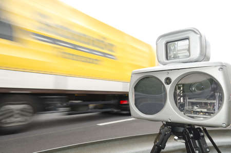 speed control with camera photo