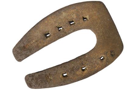 horseshoe with seven holes, lucky charm Stock Photo - 13489607