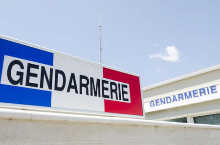 gendarmerie, french police