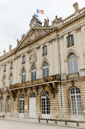 municipality: city hall of Nancy, France