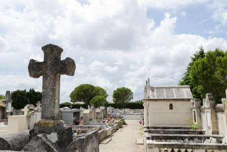 old french cemetery Editorial