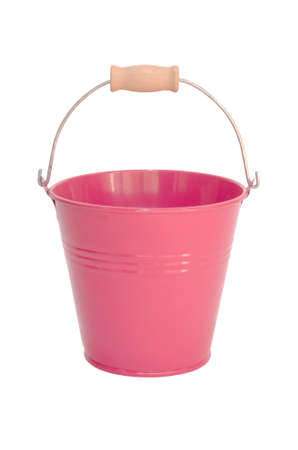 bucket isolated on a white background