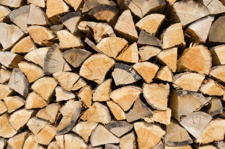 wood logs stacked