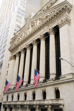 New-York Stock Exchange building Stock Photo