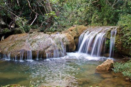 Waterfall of Soroa in Cuba.