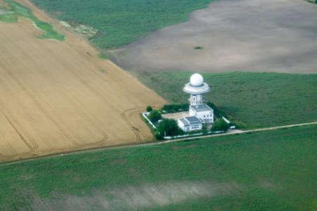 Otopeni airport weather radar in Romania.