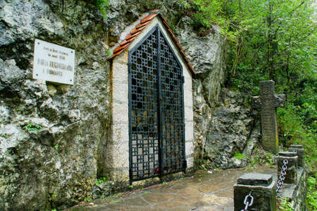 Chapel Heart of Queen Mary, copy of the Stella Maris where the chest with her heart was placed, next to the Bran Castle in Romania.