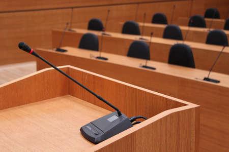 delegates: sala del Parlamento europeo e del Senato