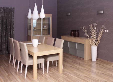 Modern living room interior design. photo