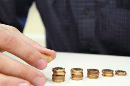 coins.  money growth  photo