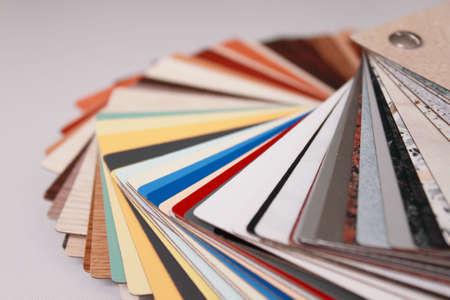 various colour palette  photo