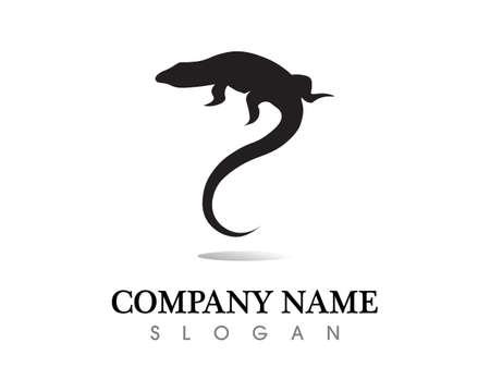 Lizard vector, design, animal, and reptile, gecko
