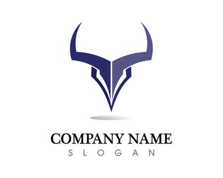 Bull horn  symbols template icons app