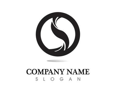 Business corporate letter P design vector