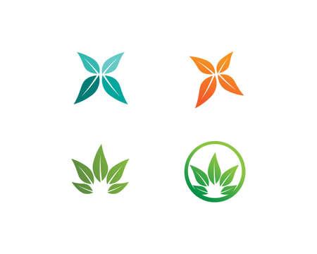 Tree leaf vector design, eco-friendly concept. 일러스트