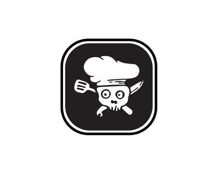 chef classical cook catering vector design