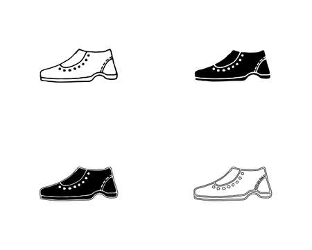 shoes concept sneaker vector design