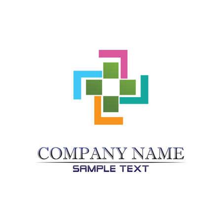 Hospital logo and symbols template icons app Logo