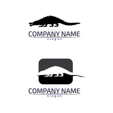 Lizard vector, design, animal, and reptile, gecko Illustration