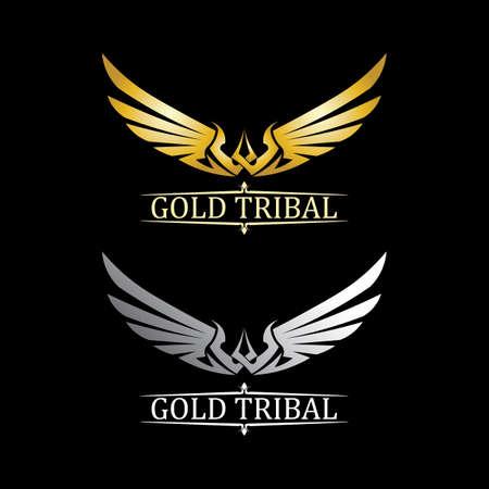 Black wing   symbol for a professional designer