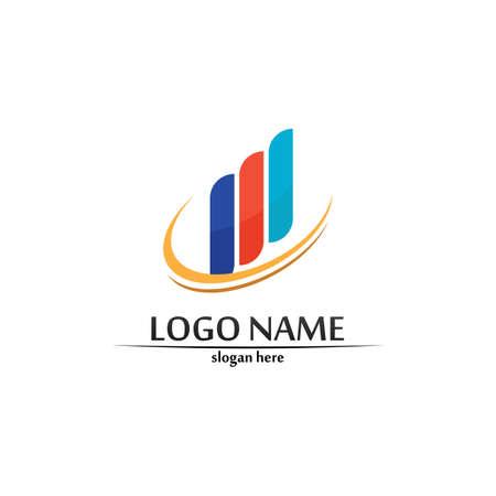 Business Finance template vector icon design