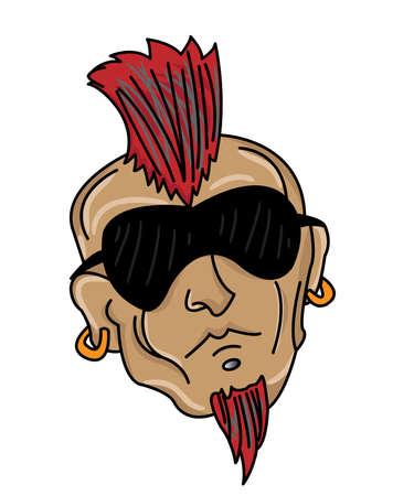 earing: Mohawk Head