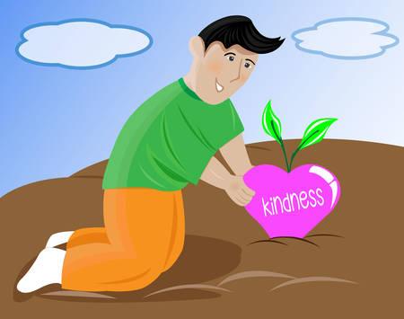 Harvesting Love Illustration