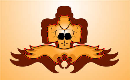 Fighter Icon Vector Illustration