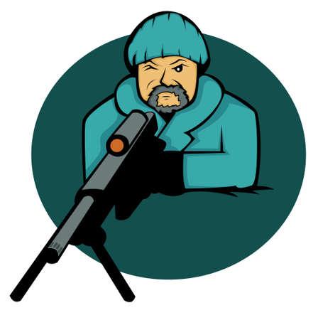 Sniper Cartoon
