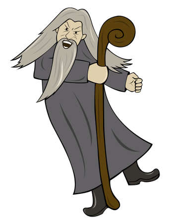 Grey Haired Wizard