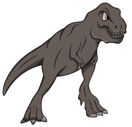 tyrannosaur: T-Rex Illustration