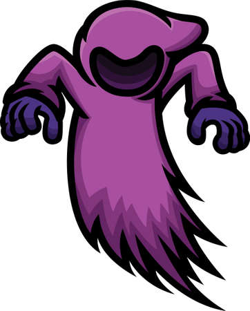 Dark Ghost Cartoon