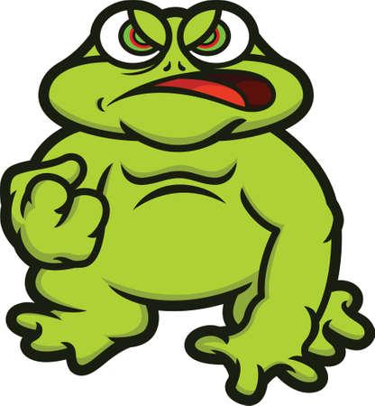 Bullfrog Cartoon