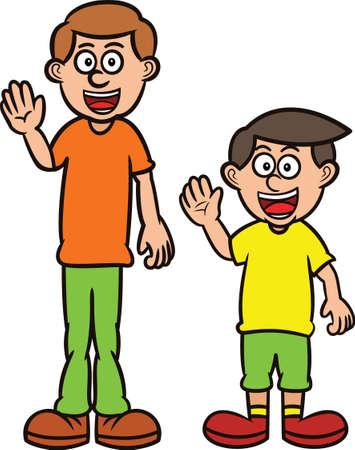 Картинка высокого человека для детей
