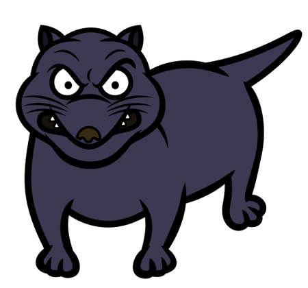 Tasmanian Devil Animal Cartoon Ilustrace