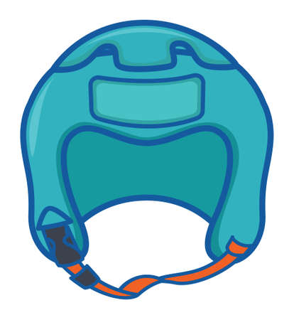 Boxing Headguard 向量圖像