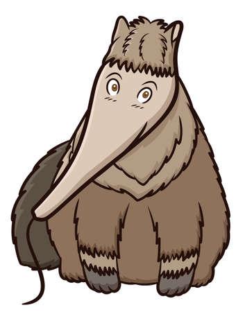 Giant Anteater Cartoon