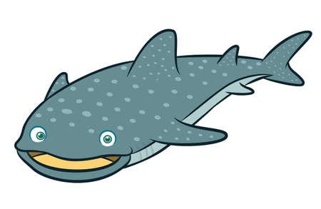 Whale Shark Cartoon