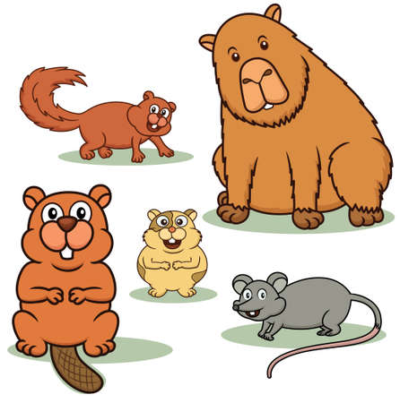 rodent: Rodent Animals Cartoon