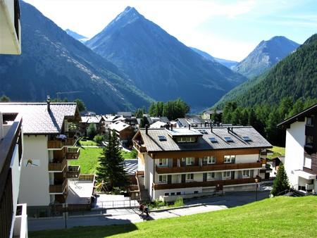 Saas Fee: Saas Fee village, Switzerland