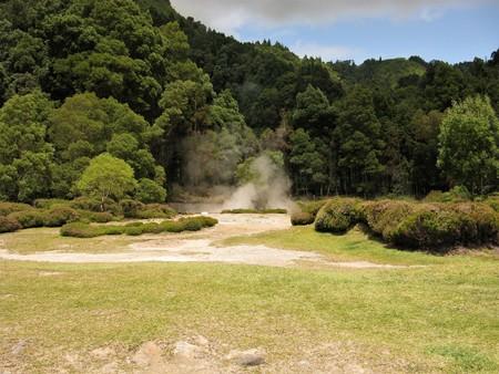 Hot springs, Furnas, The Azores