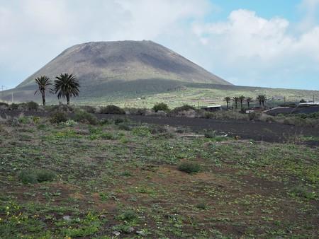 Los Helechos volcano near Maguez, Lanzarote