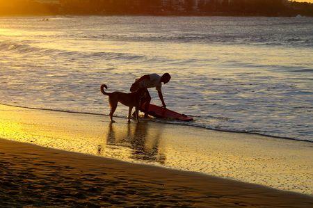 Sunset Beach Stock Photo - 2355044