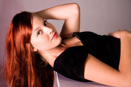 beautiful girl portrait photo