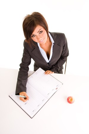 beautiful young business woman Stock Photo - 4427727